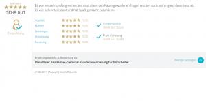 Proven-Expert Kundenbewertung