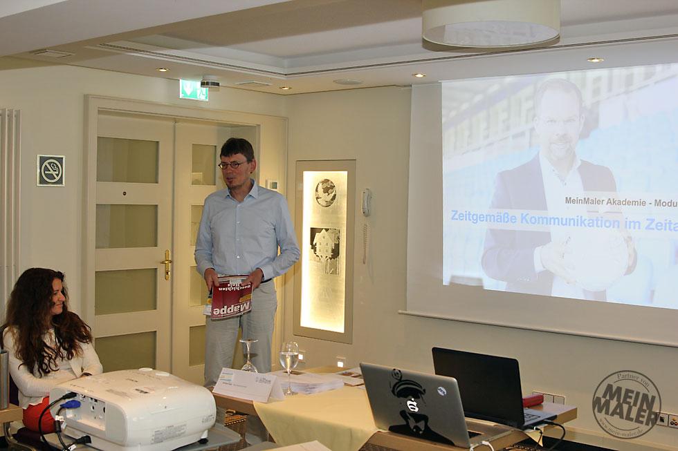 Matthias Heilig, Chefredakteur der Maler-Fachzeitschrift Mappe