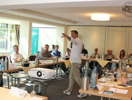 Vortrag von Unternehmenslenker, Blogger, Motivator und Vortragsredner Matthias Schultze